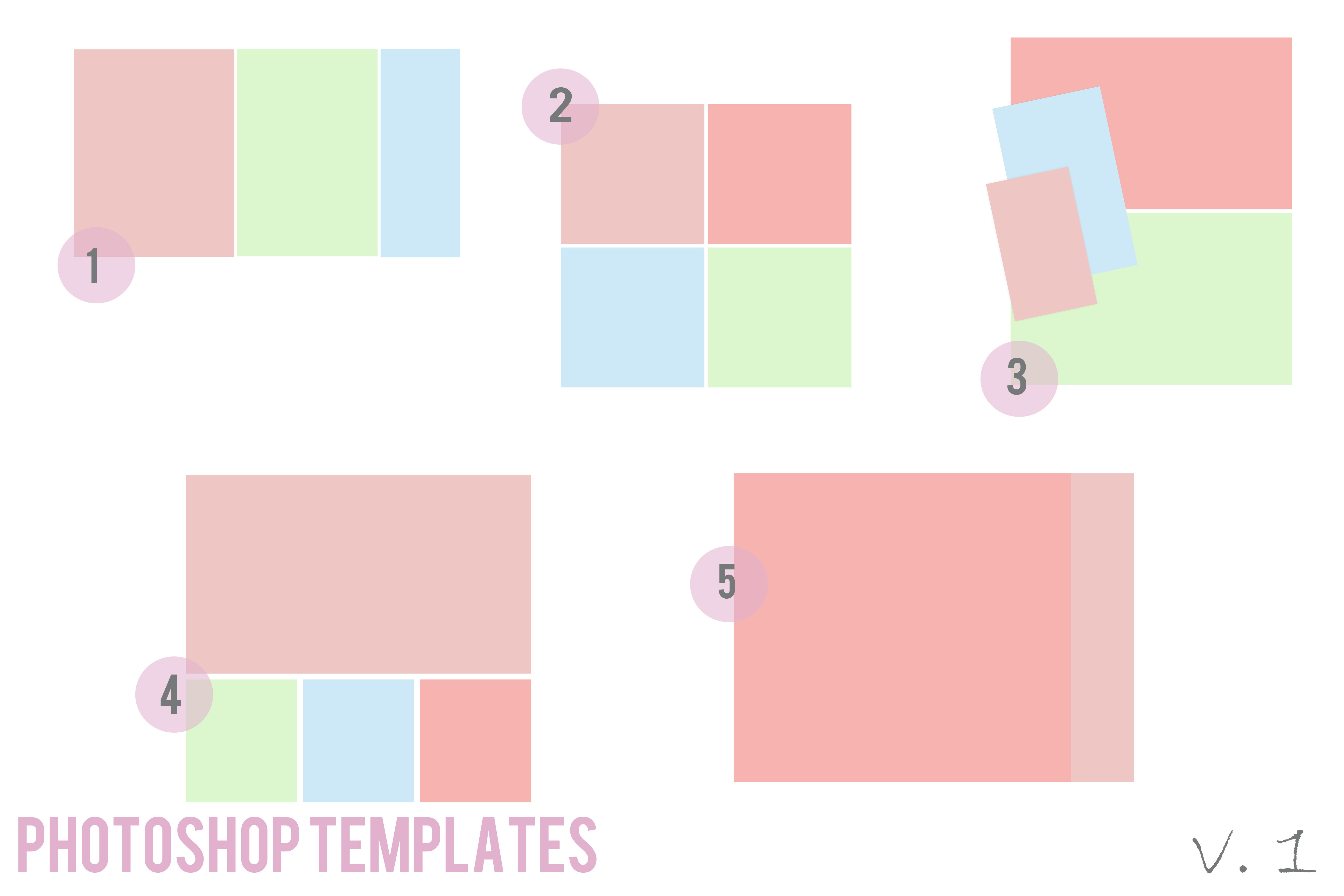 Photoshop Templates: Free Photoshop Templates
